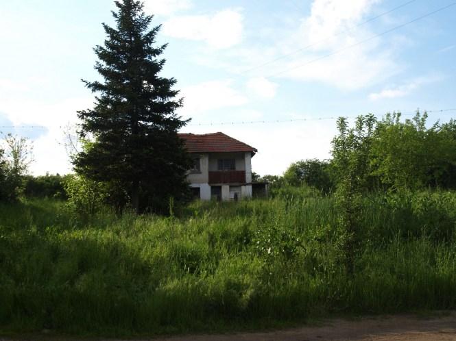 тази къща е имала двор със зеленчукова градина и семейство